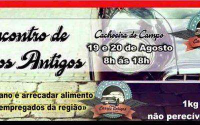 5 º Encontro de Carros Antigos em Cachoeira do Campo – MG, 19 e 20 de Agosto de 2017