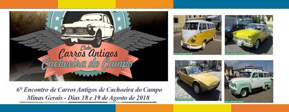 O Guia apoia: Encontro reúne colecionadores e apaixonados por carros antigos em Cachoeira do Campo MG