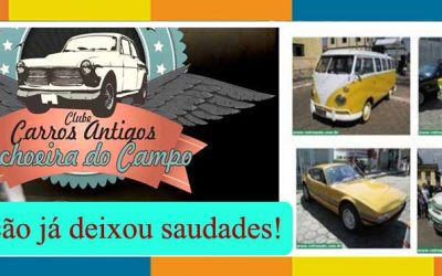 O Guia apoiou e parabeniza: 6º Encontro de Carros Antigos de Cachoeira do Campo – MG