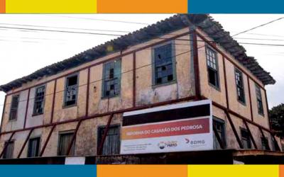 Restauração do Solar dos Pedrosa, em Cachoeira do Campo, faz parte das ações de Ouro Preto para marcar os 300 anos da revolta liderada por Filipe dos Santos (1680-1720)