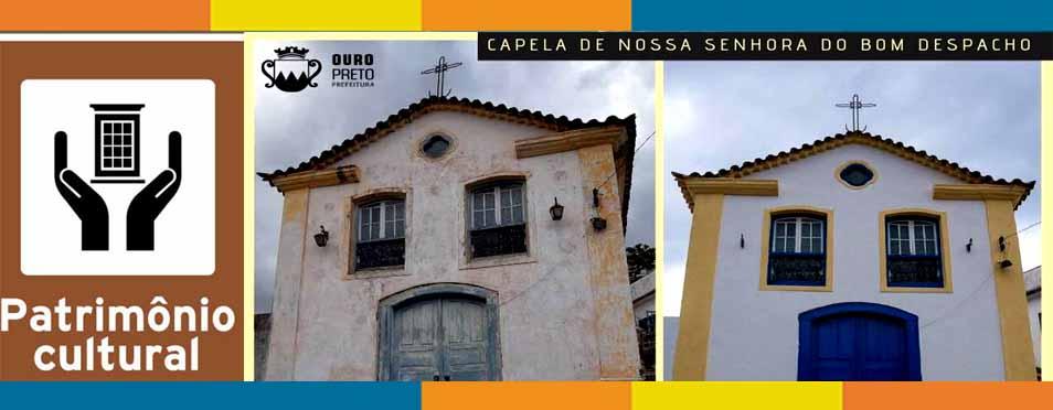 Patrimônio: Parceria entre o poder público e o privado com Paróquia garante restauro de Capela, em Cachoeira do Campo – MG