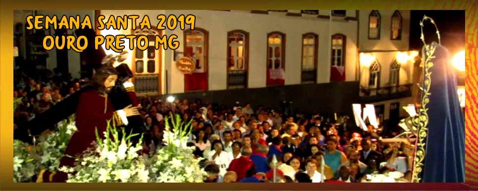 Semana Santa em Ouro Preto-MG: Confira a programação completa dos atos solenes