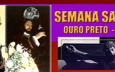 Programação da Semana Santa 2018 em Ouro Preto-MG