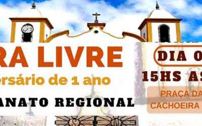 Feira Livre de Cachoeira do Campo completa um ano com programação especial em agosto